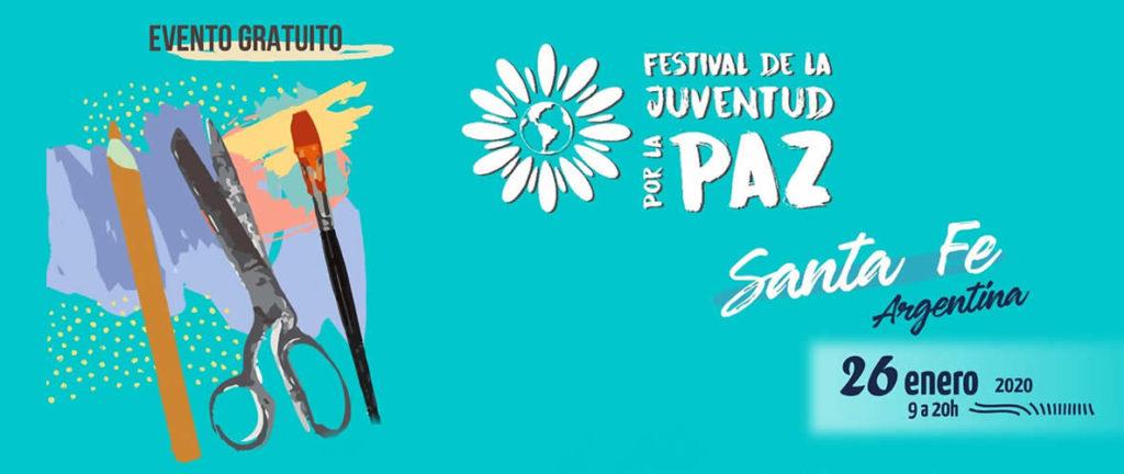 FESTIVAL DE LA JUVENTUD POR LA PAZ – SANTA FE, ARGENTINA