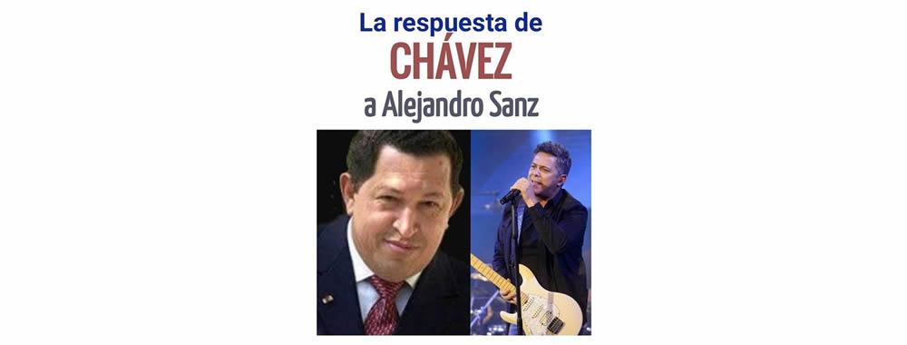 LA RESPUESTA DE CHÁVEZ A ALEJANDRO SANZ